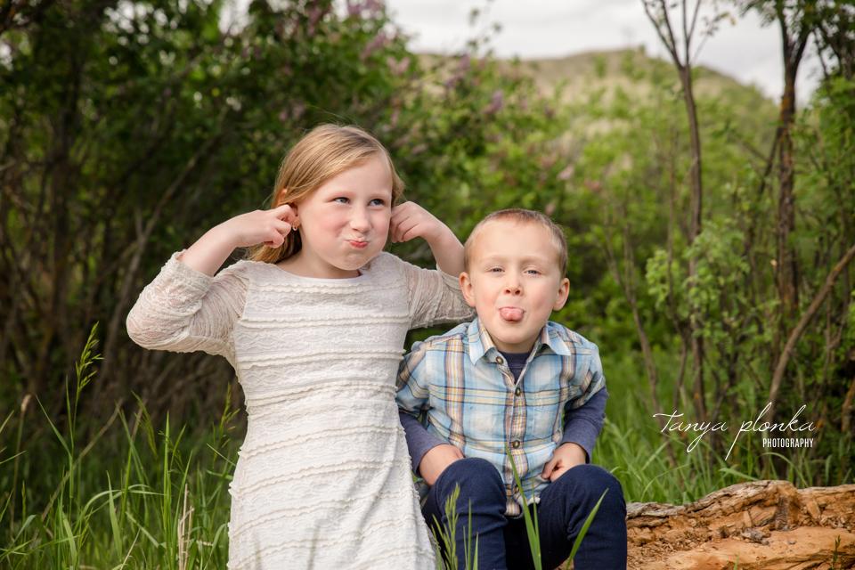 fun Lethbridge family photos