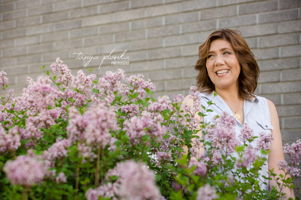 Lethbridge spring lilac portraits
