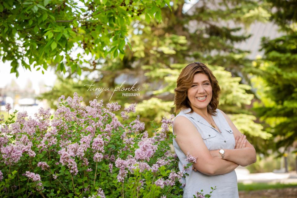 Lethbridge spring blossom portraits