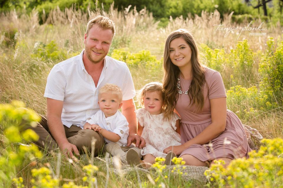 Lethbridge summer family portraits