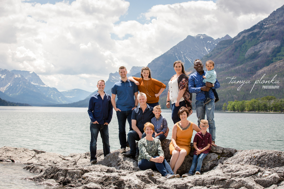 Waterton family photography