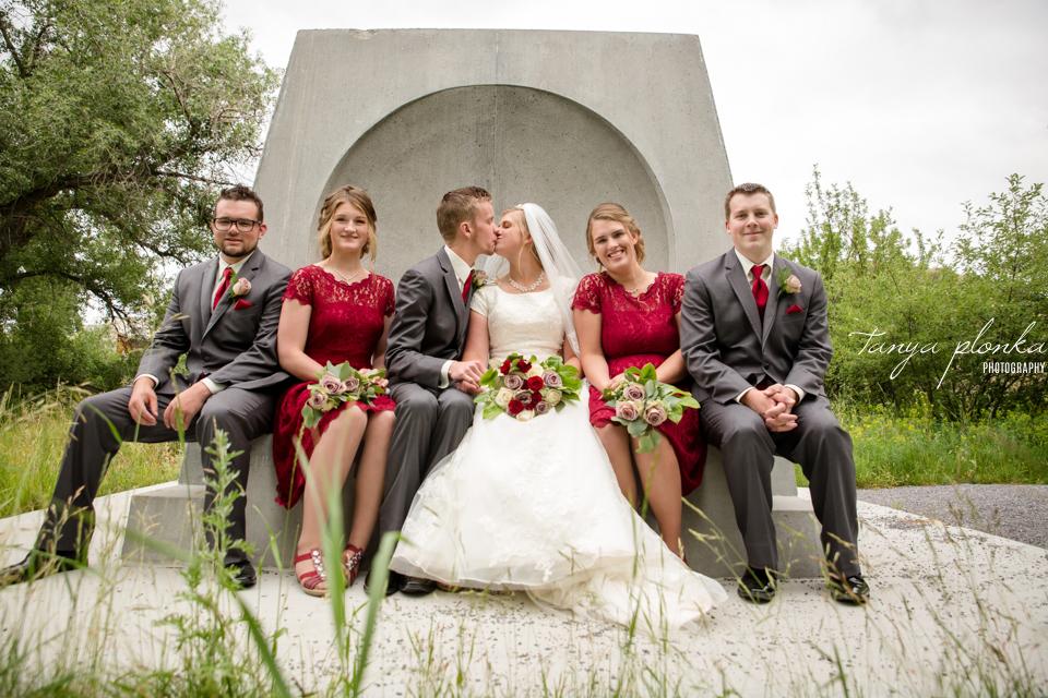 Tacey & Brendan, Lethbridge wedding photos