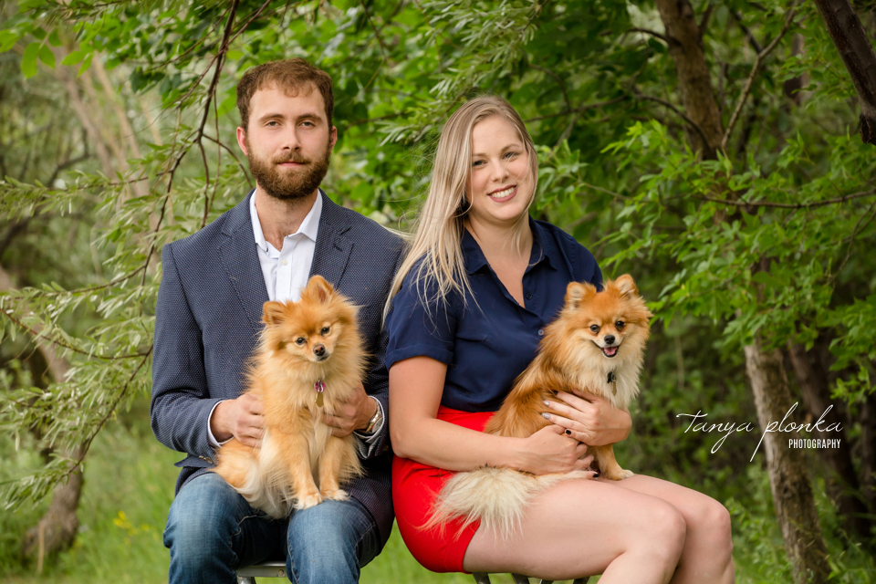 west Lethbridge portraits with dogs