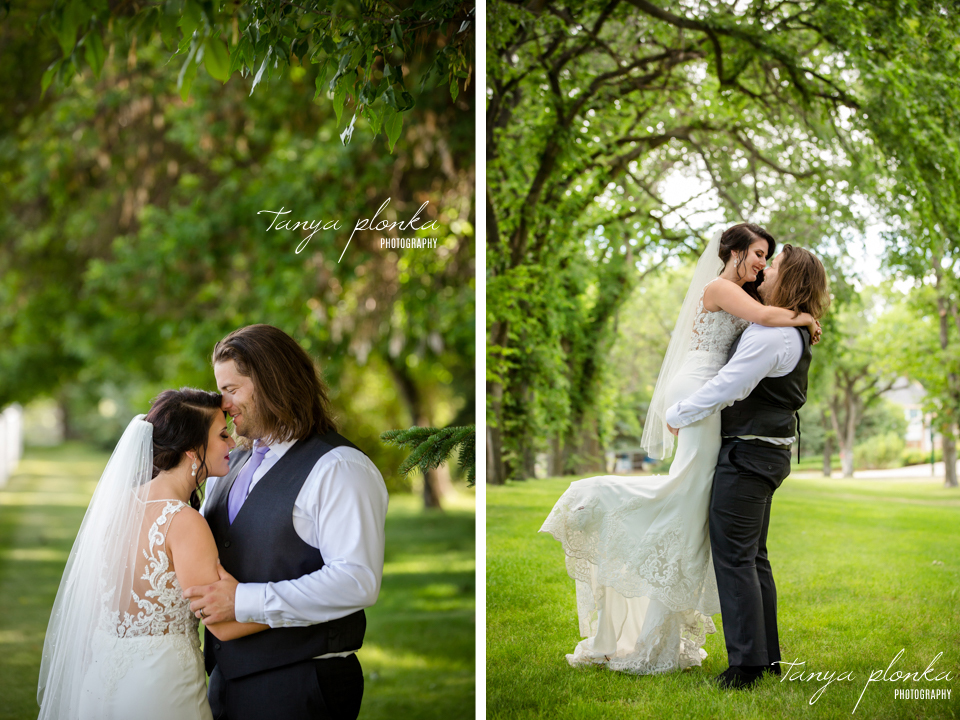 Lindsay and Terry, Henderson Lake wedding photos