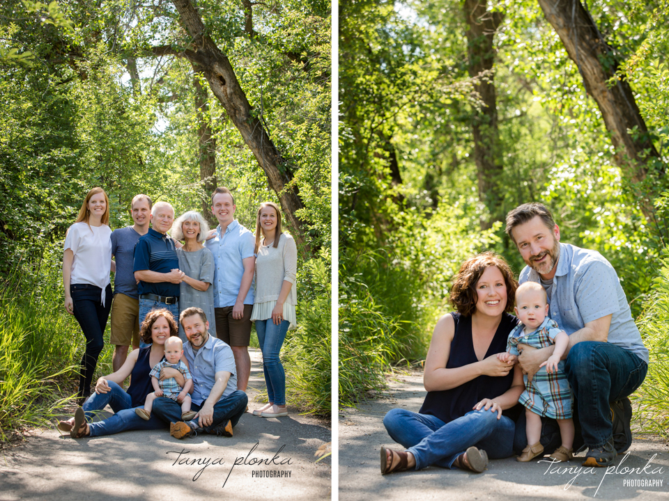 Lethbridge summer family photos
