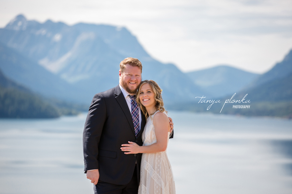 Catherine and Griffin, Waterton Lakes photography