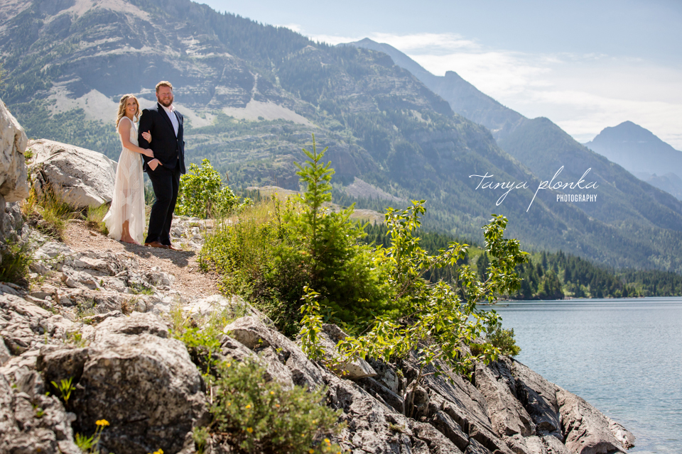 Catherine and Griffin, Waterton couples photography