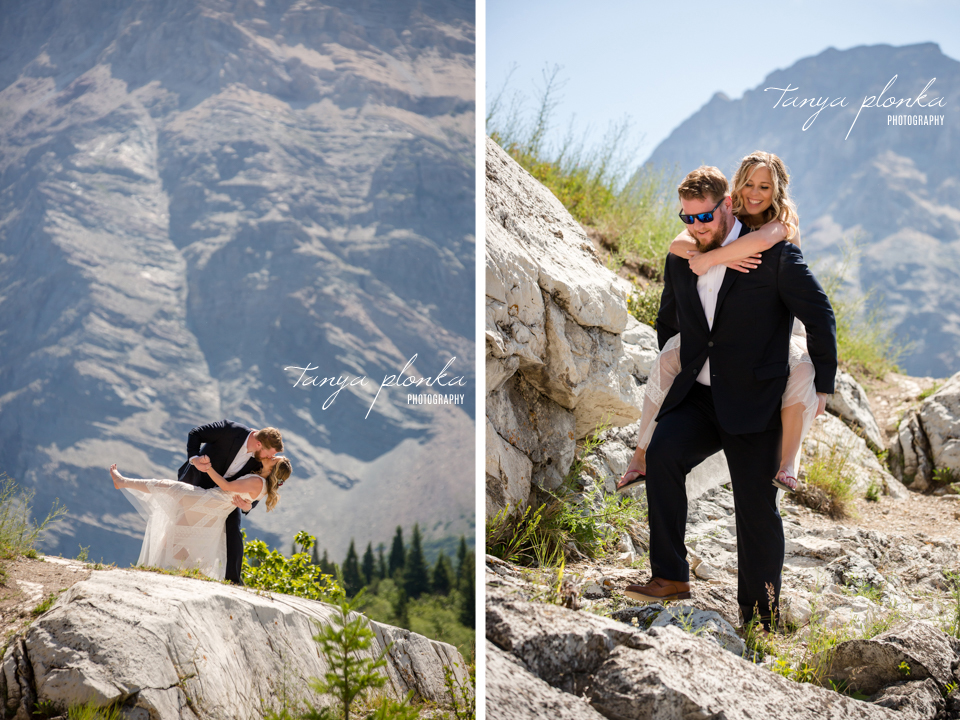 Catherine and Griffin, Waterton Lakes wedding photography