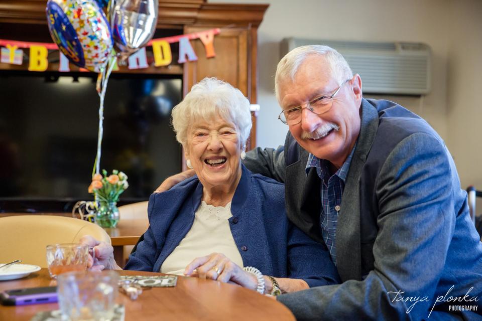 100th Birthday Party in Lethbridge