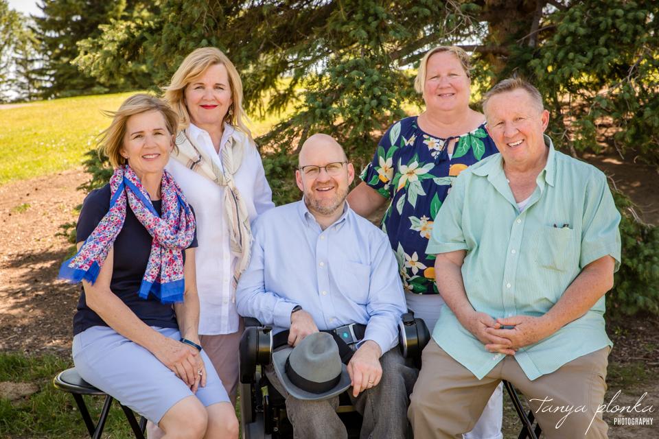 Nicholas Sheran family reunion photos
