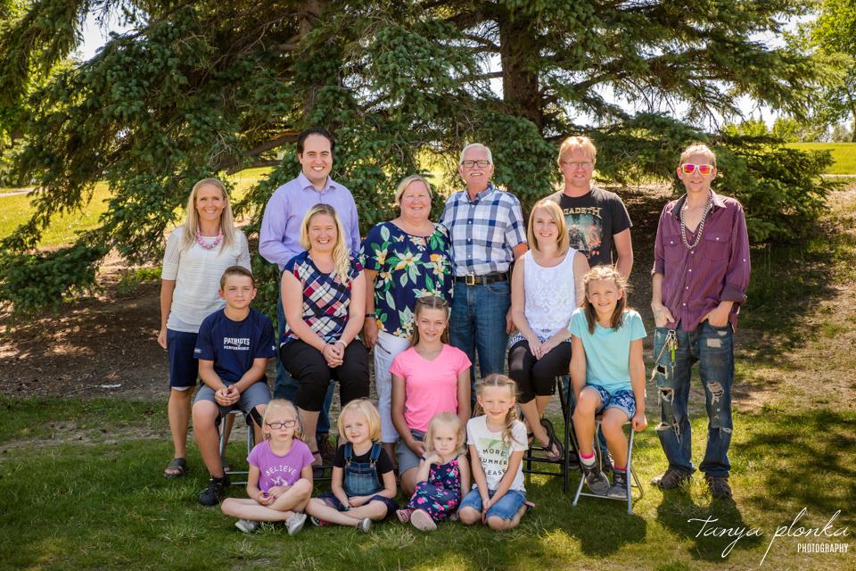 Lethbridge multi-generation photos