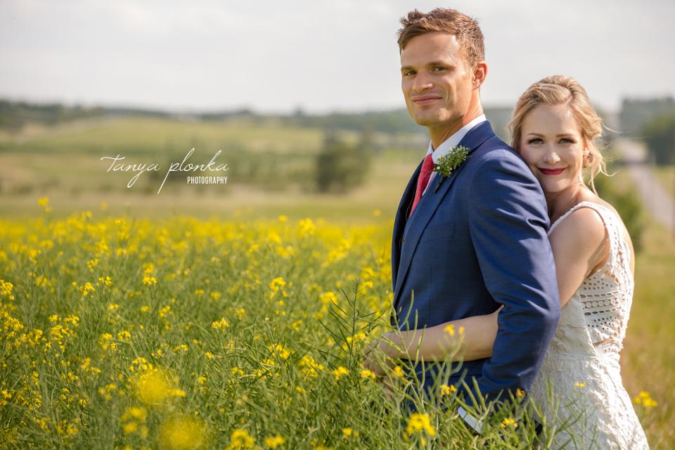 Roxy and Josh, Calgary rustic wedding