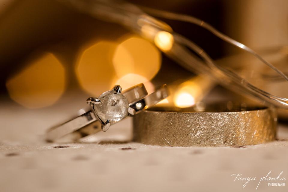 Roxy and Josh, Calgary wedding ring photo