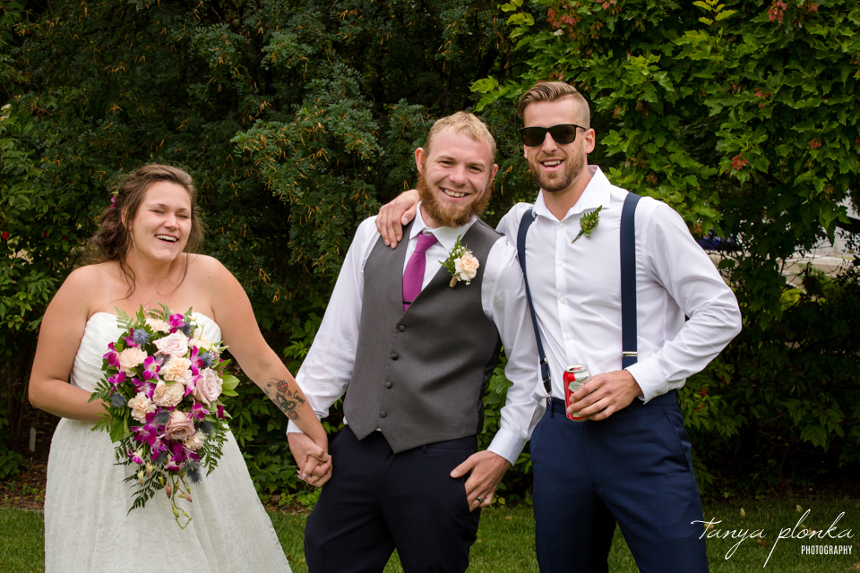 Shaylee and Dennis, Lethbridge Fairfield Garden Wedding
