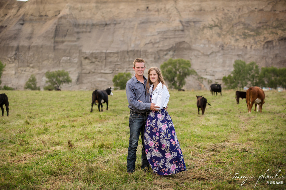 Southern Alberta cattle ranch portraits