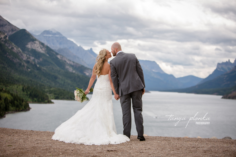 Deandra & Phil, Waterton wedding photography