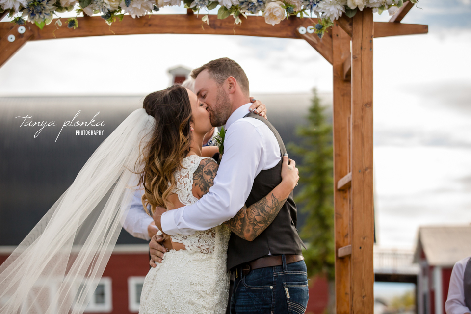 Jordynne and Robbie, Heritage Acres country wedding