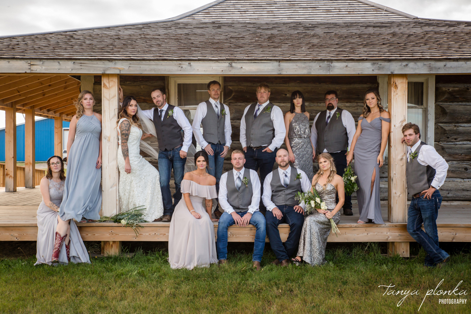 Jordynne and Robbie, Pincher Creek wedding photography