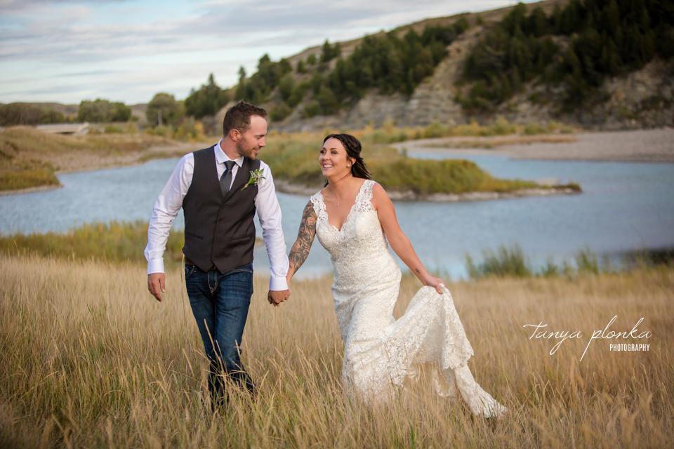 Jordynne and Robbie, Old Man River Dam wedding photos