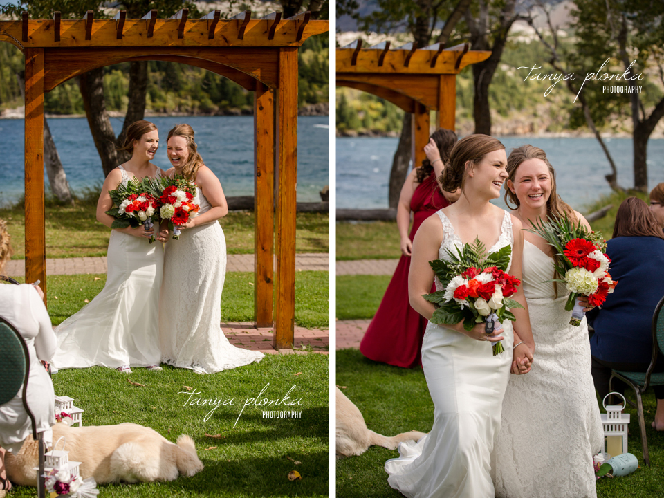 Cassie and Chelsea, Bayshore Inn wedding photos