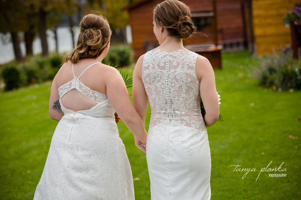 Cassie and Chelsea, Intimate Waterton Wedding Ceremony