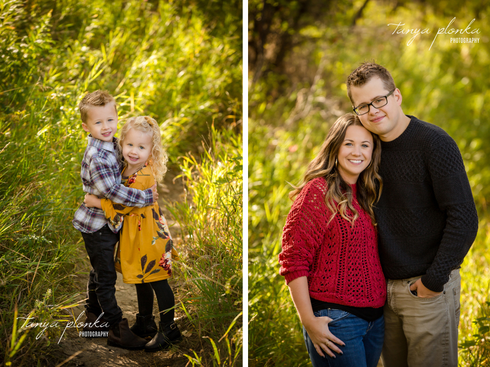 Lethbridge autumn family photography