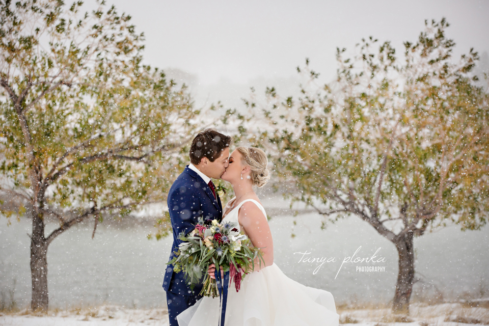 Brietta and Samuel, Snowy Heritage Acres Wedding