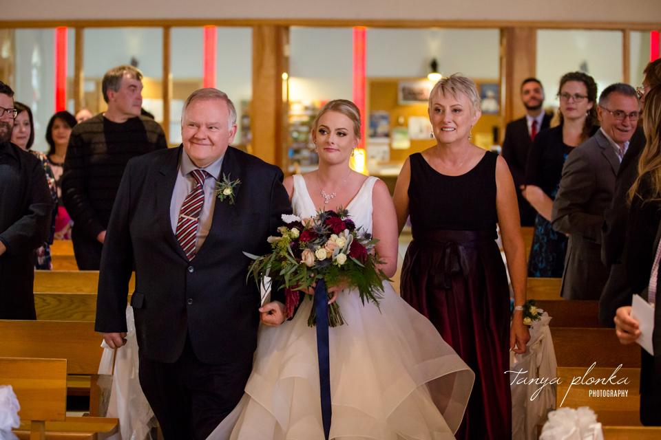 Brietta and Samuel, Pincher Creek fall wedding