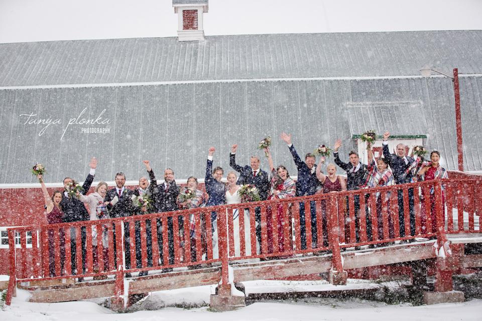 Brietta and Samuel, Snowy Heritage Acres Wedding