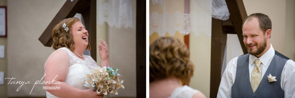 Ami and Devin, Readymade Community Centre wedding