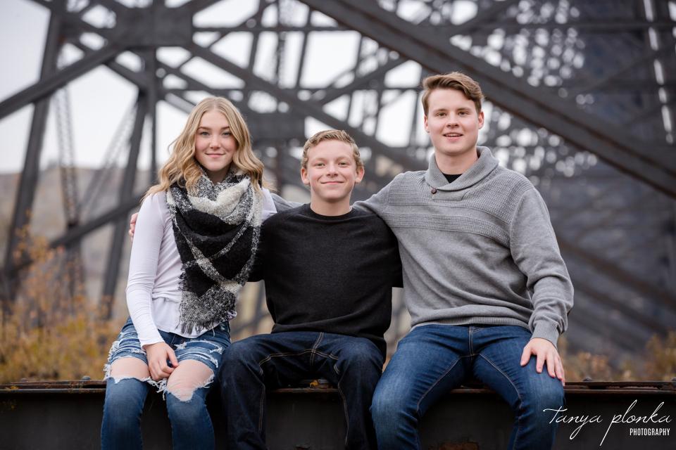 Lethbridge high level bridge family photos