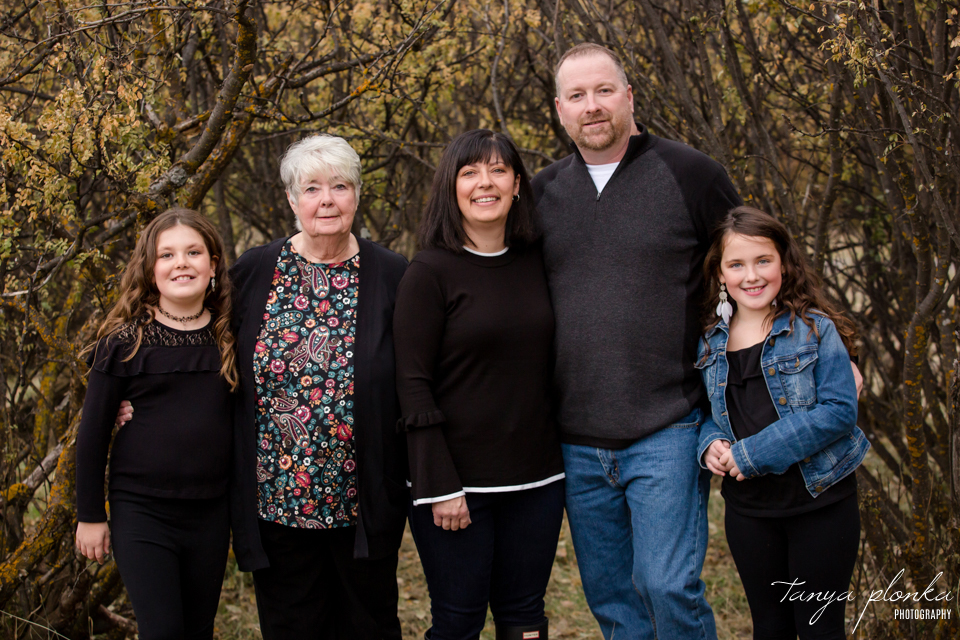 Helen Schuler fall family photos
