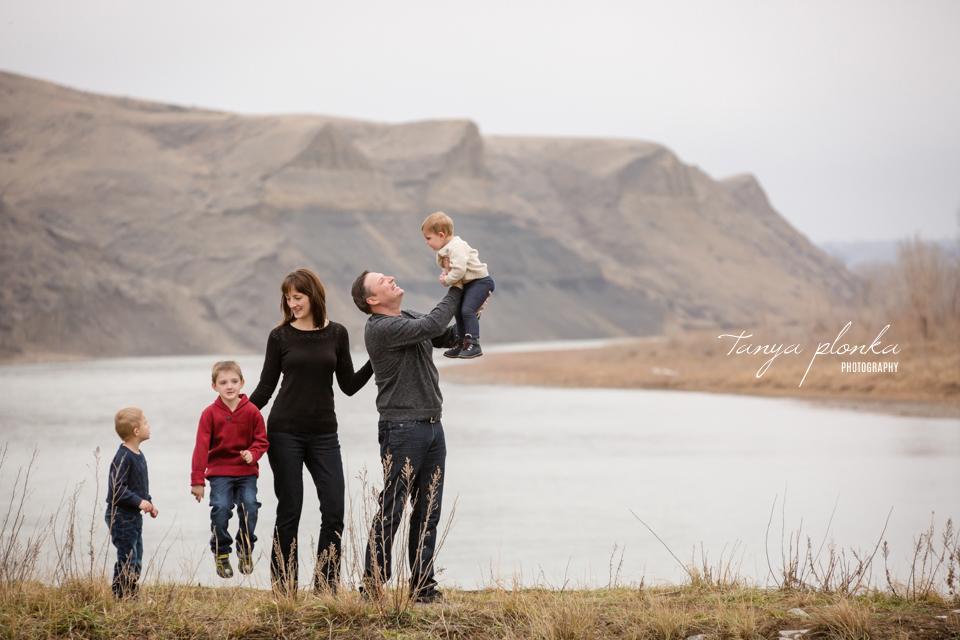 late autumn Lethbridge family photos