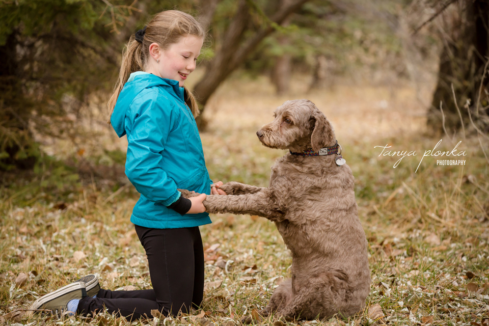 children and pet photography in Lethbridge