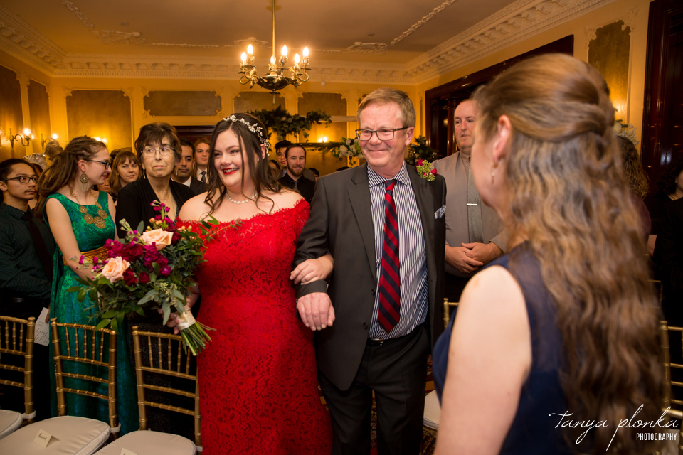 Lisa & Skylar, Calgary winter wedding