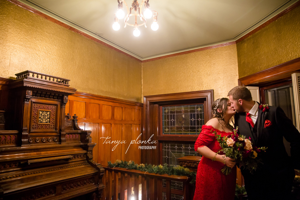 Lisa & Skylar, Lougheed House evening wedding