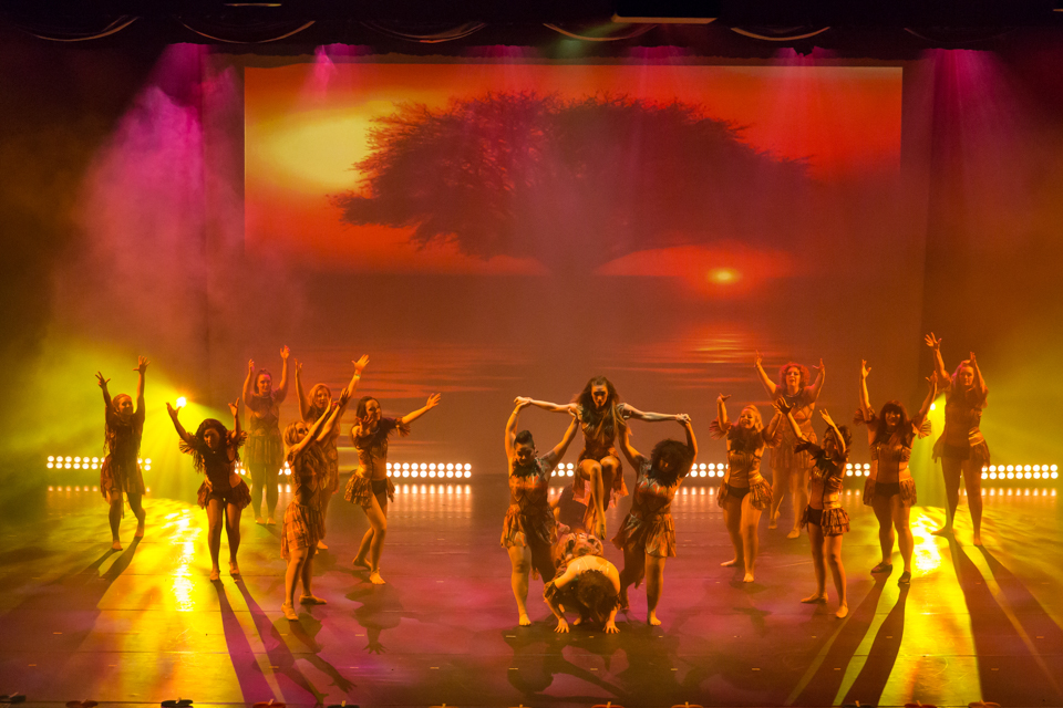 Yates Memorial Theatre dance show, Explosion of World Dance and Music by Ammena Dance Company