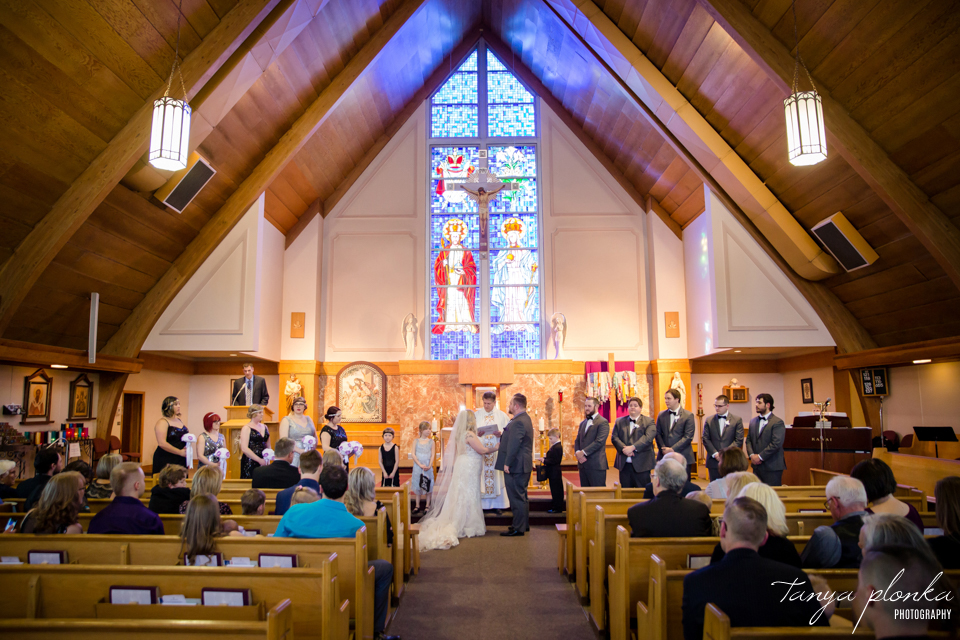 Kaylene & James, Lethbridge St Basil's Catholic Church wedding photos