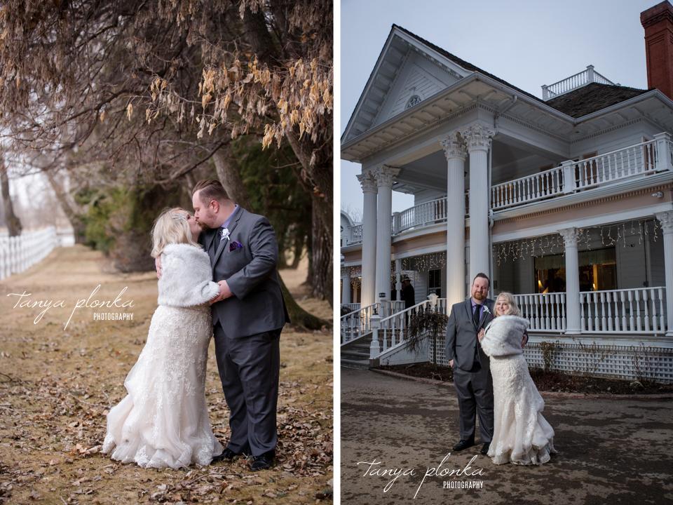 Kaylene & James, Lethbridge Norland Historic Estate wedding