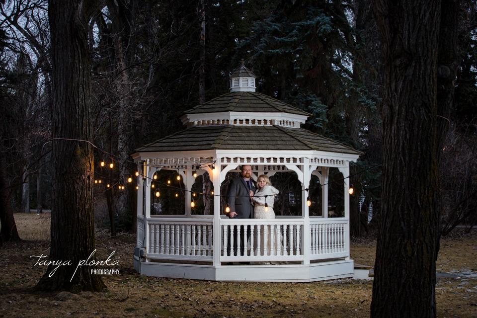 Kaylene & James, Norland gazebo wedding photos