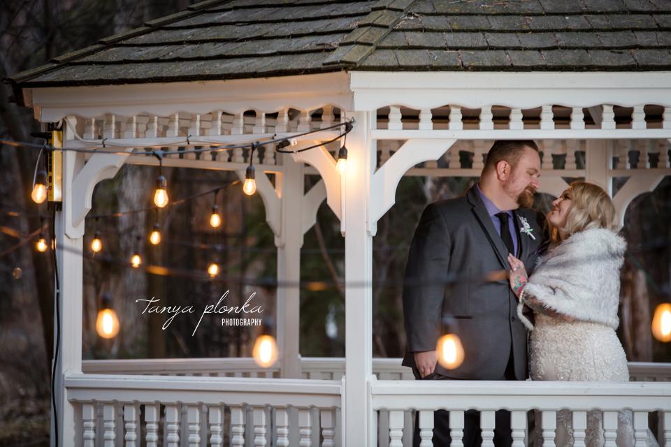 Kaylene & James, Lethbridge Norland evening wedding photos