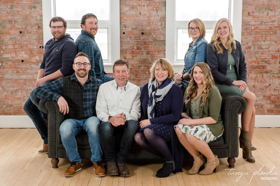 family reunion photos in Lethbridge