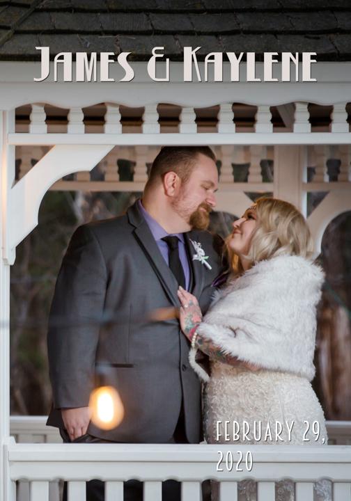 Norland winter wedding album