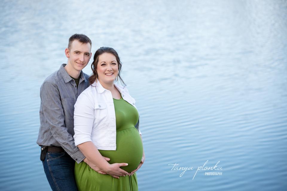 Aperture Park maternity session