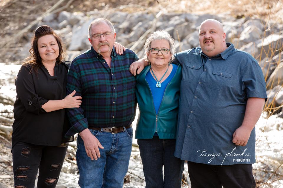 Hillcrest family photos
