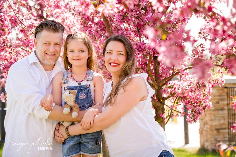Lethbridge spring blossom mini session