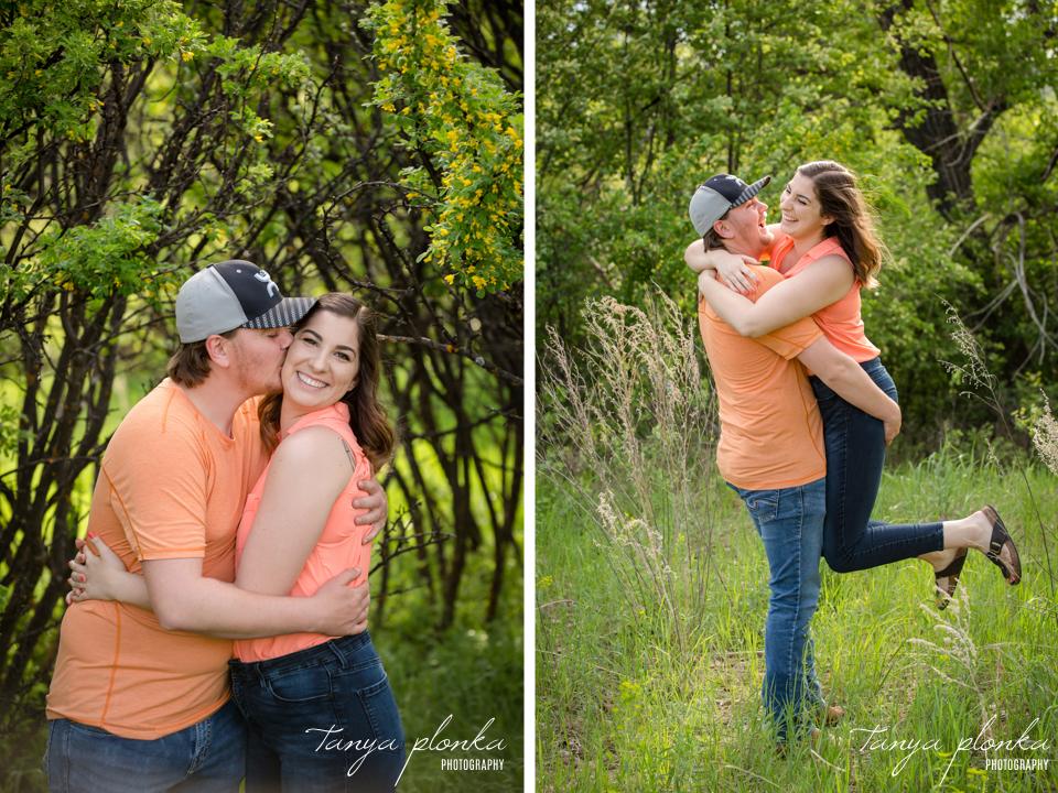 Couples spring portraits