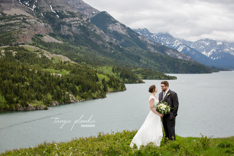 Natasha & Jeremy, Intimate Waterton Lakes Lodge Wedding