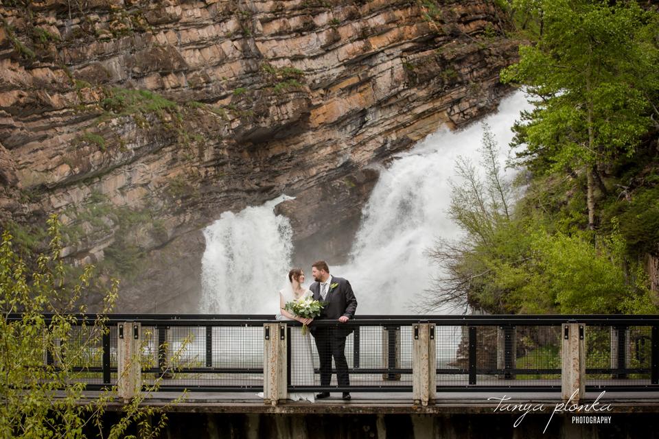 Natasha & Jeremy, Cameron Falls wedding photos