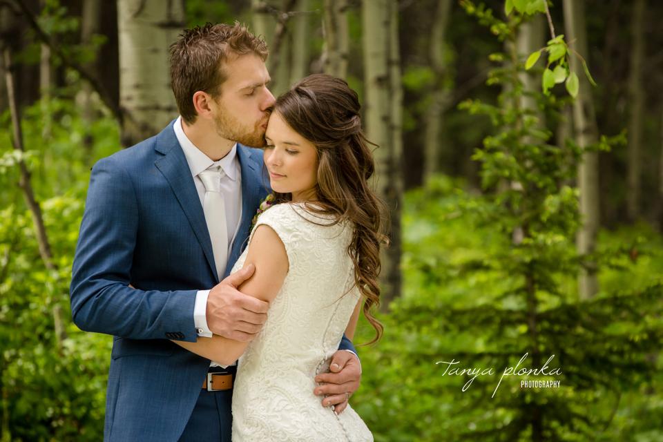 Julie & Nathan, Lethbridge spring wedding portraits